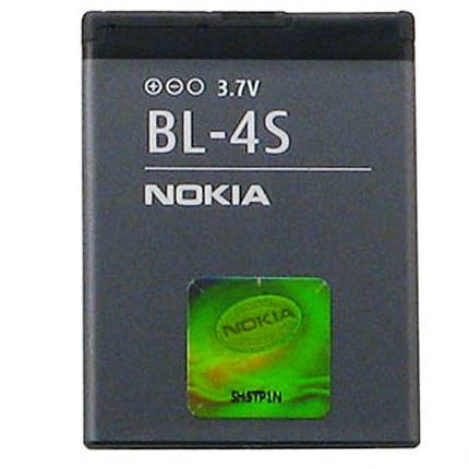 Аккумулятор батарея Nokia BL-4S, фото 2