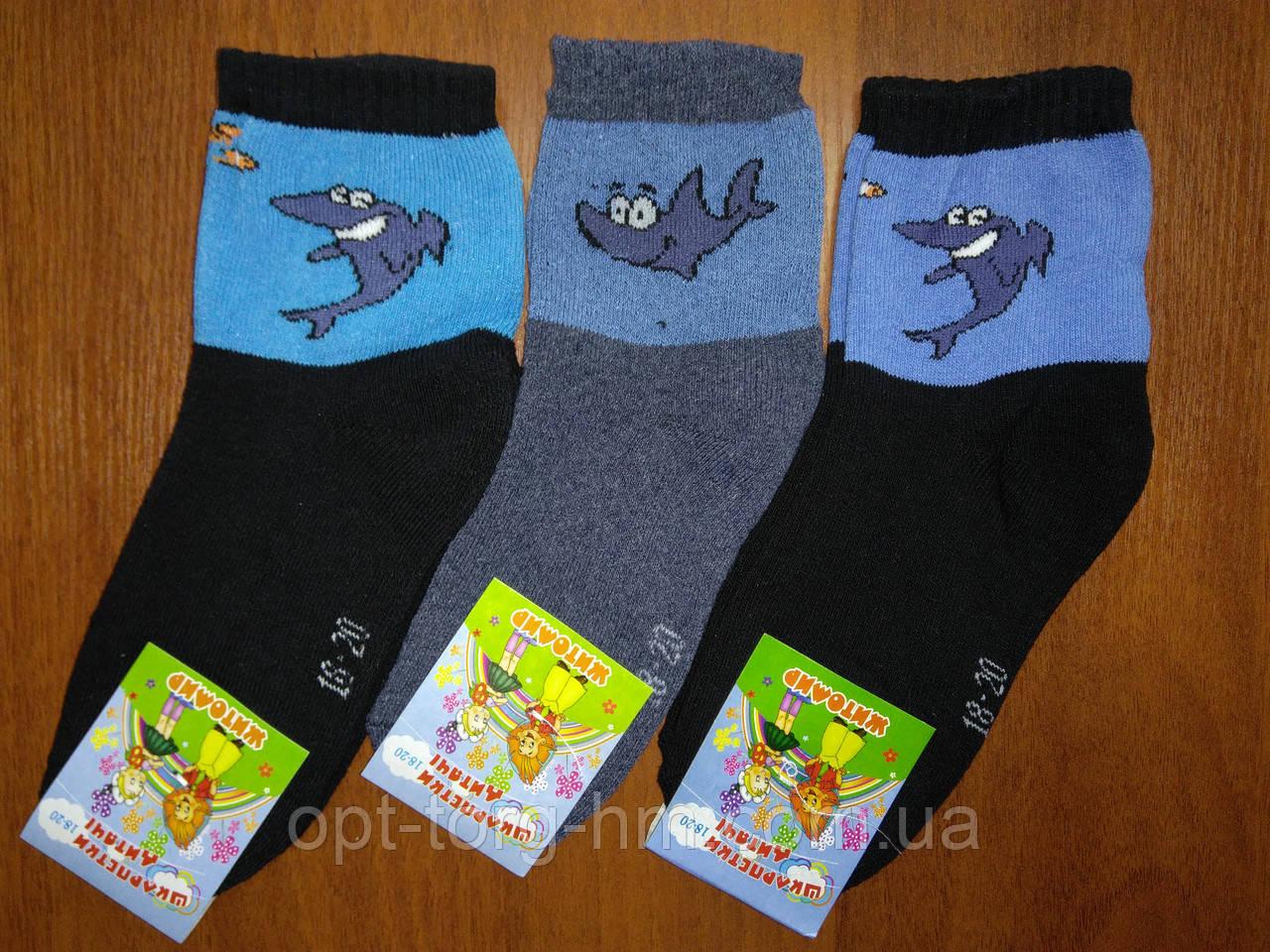 Махровые детские носки 18-20 (28-32 ОБУВЬ)