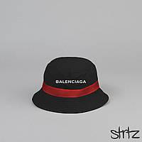 Современная черная панамка Баленсиага