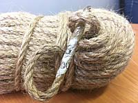 Веревка джутовая для декора деревянного дома диам. 6 мм (в бобинах по 100 м.п.), фото 1
