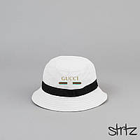 Класна біла панамка Gucci