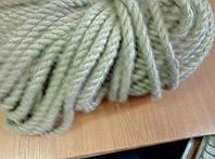 Веревка джутовая для декора деревянного дома диам. 16 мм (в бобинах по 50 м.п.)