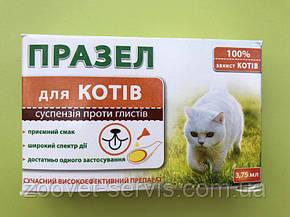 Празел-суспензия от глистов для кошек 3,75 мл, фото 2