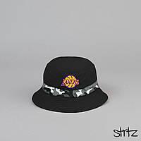 Классная черная панамка Los Angeles Lakers