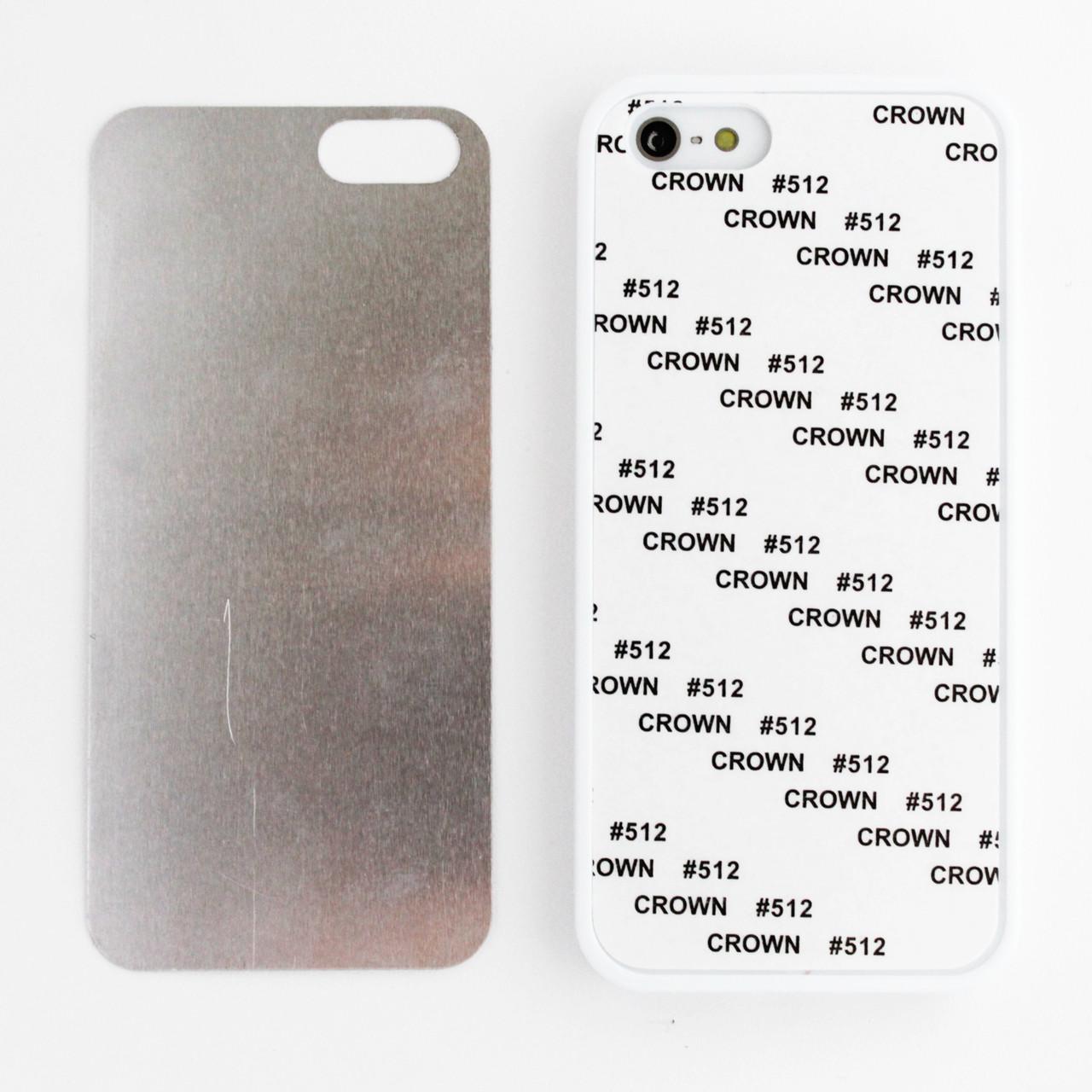 Чехол для сублимации 2D Iphone 5/5s TPU (белый)