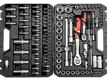 Профессиональный набор инструментов Yato YT-12681 94 предметов, фото 2