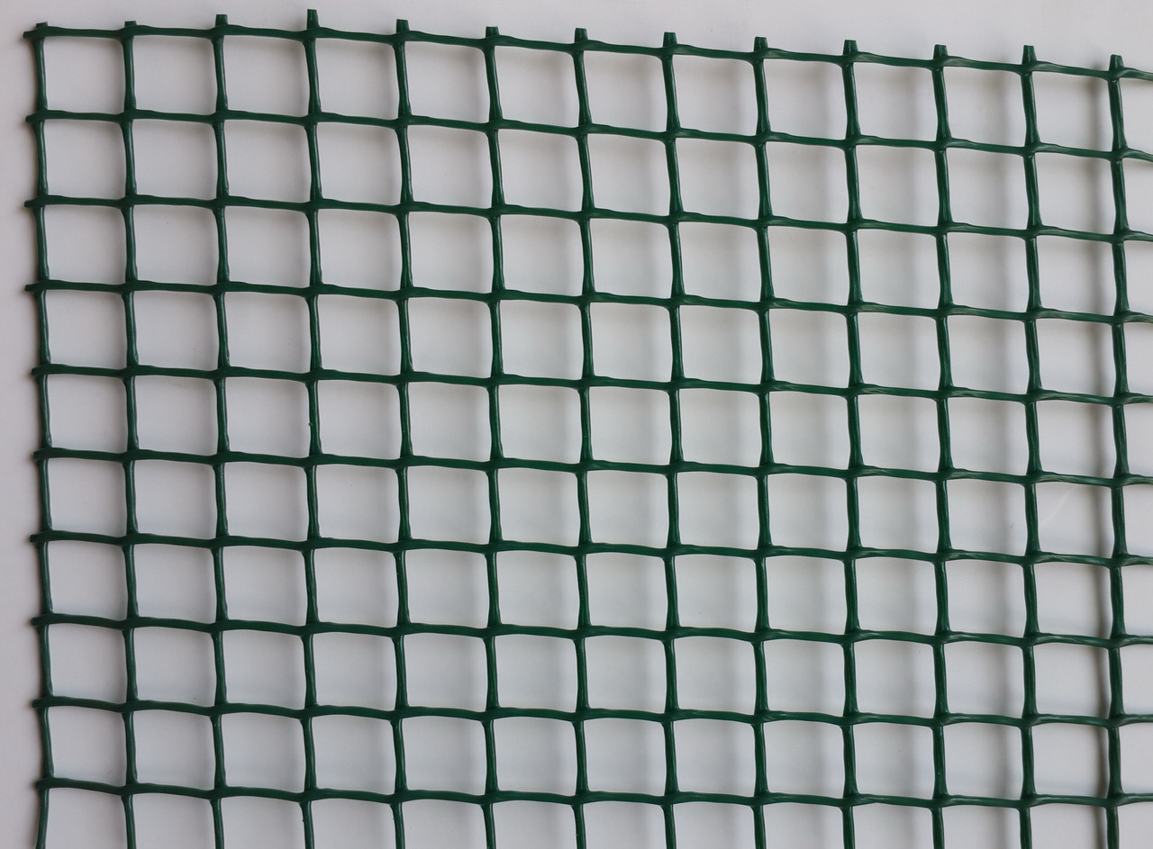 Сетка пластиковая декоративная Клевер Д 13 Темно-зеленая