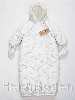 Зимний комбинезон-трансформер Mothercare 92 см белый QD544