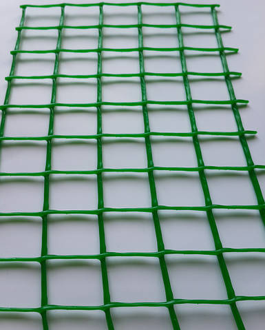 Сетка пластиковая декоративная Клевер Д 20 Зеленая