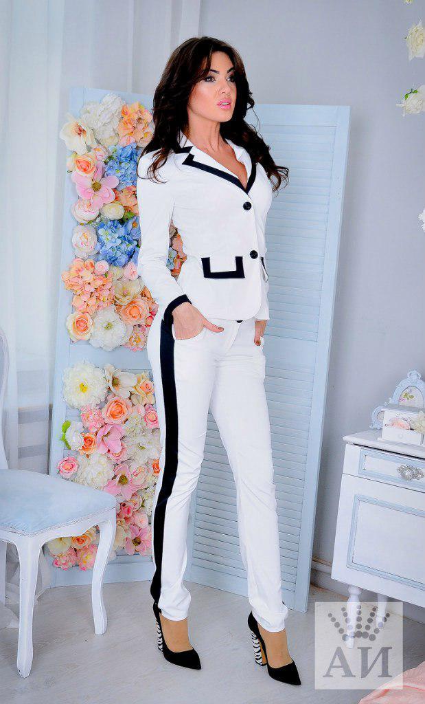 8072c68cf8a Брючный костюм из тиара - Интернет-магазин одежды