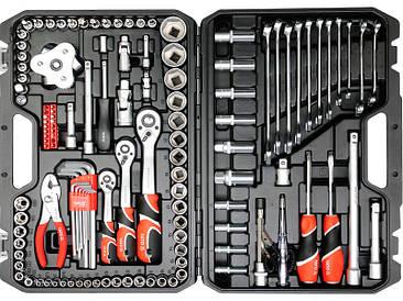 Набір інструментів для автомобіля Yato YT-38875 126 предметів