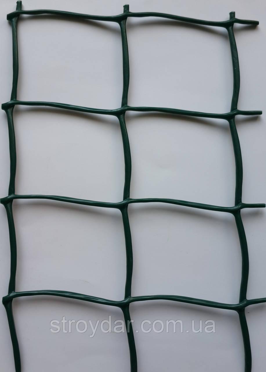 Сітка пластикова декоративна Д 50 Темно-зелена