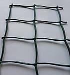 Сітка пластикова декоративна Д 50 Темно-зелена, фото 2