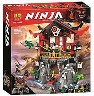 Конструктор Bela 10806 Храм воскресения. Ниндзяго (аналог Lego Ninjago Movie 70643)