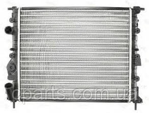 Радиатор основной RenaultLogan без кондиционера (Thermotec D7R003TT)(среднее качество)