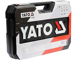 Набір інструментів для авто Yato YT-38881 129 предметів, фото 2