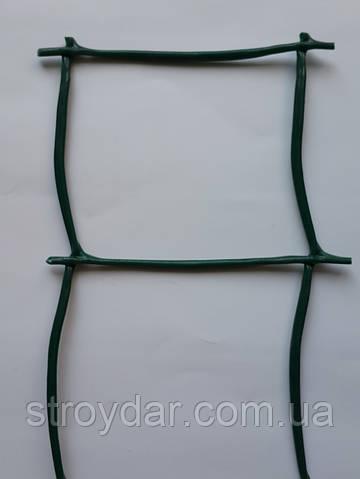 Сетка пластиковая декоративная Д 85 Темно-зеленая