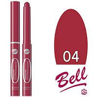 Bell Помада-карандаш пудровая №04 HYPOallergenic Powder Lipstick