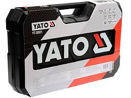 Набор инструмента для автомобиля Yato YT-38931 173 элемента, фото 2