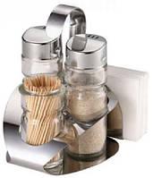 Набор для соли, перца, зубочисток, под салфетки МR1611С