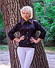 Рубашка женская Воротник камни, АК №1229
