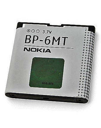 Аккумулятор батарея Nokia BP-6MT, фото 2