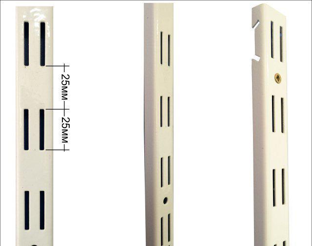 Стійка перфорована 500мм в гардеробній системі зберігання Україна