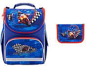 """Комплект школьный. Рюкзак """"Motocross"""" K18-501S-4, Пенал, ТМ  KITE"""