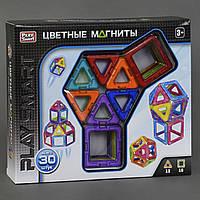 Магнитный конструктор PlaySmart на 30 деталей арт. 2427