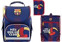 """Комплект школьный. Рюкзак """"FC Barcelona"""" BC18-501S, Пенал и Сумка, ТМ  KITE"""
