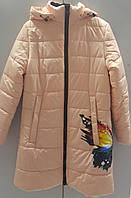 Демисезонное пальто на девочку размеры: 130-170 ,код: 1775
