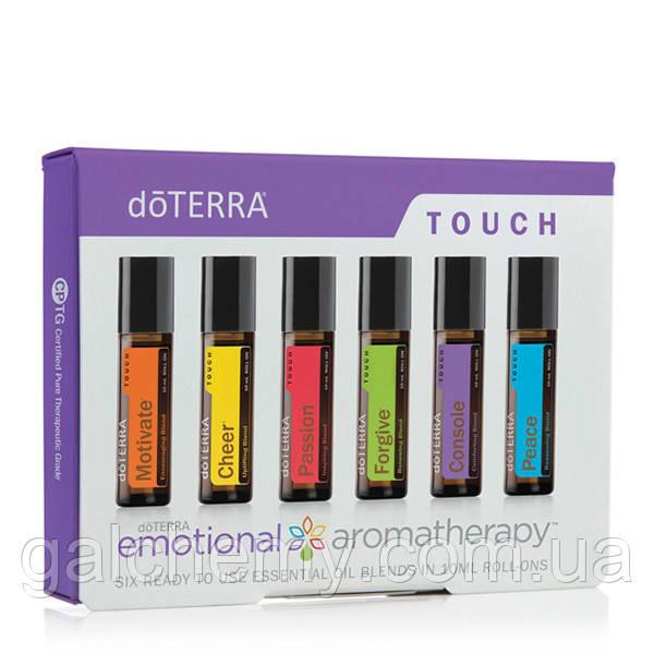 Emotional Aromatherapy Touch Kit/набор из смесей эфирных масел в роллерах Эмоциональная ароматерапи, 6 по 10мл