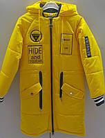 Демисезонное пальто на девочку размеры: 130-170 ,код: 1780