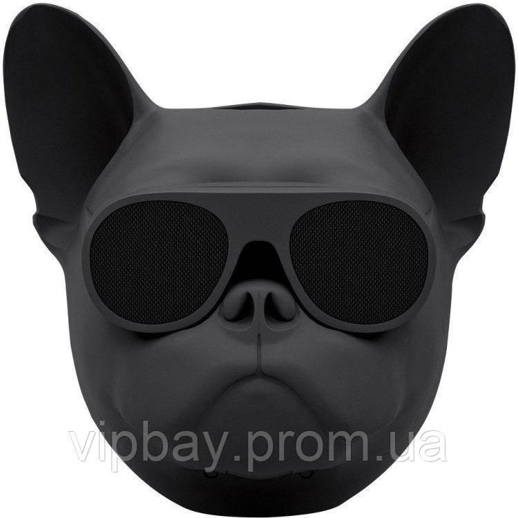 Беспроводная портативная Bluetooth колонка Sunroz Aerobull Dog Chrome