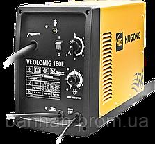 Сварочный инвертор полуавтомат Hugong VeoloMig 180E, фото 3