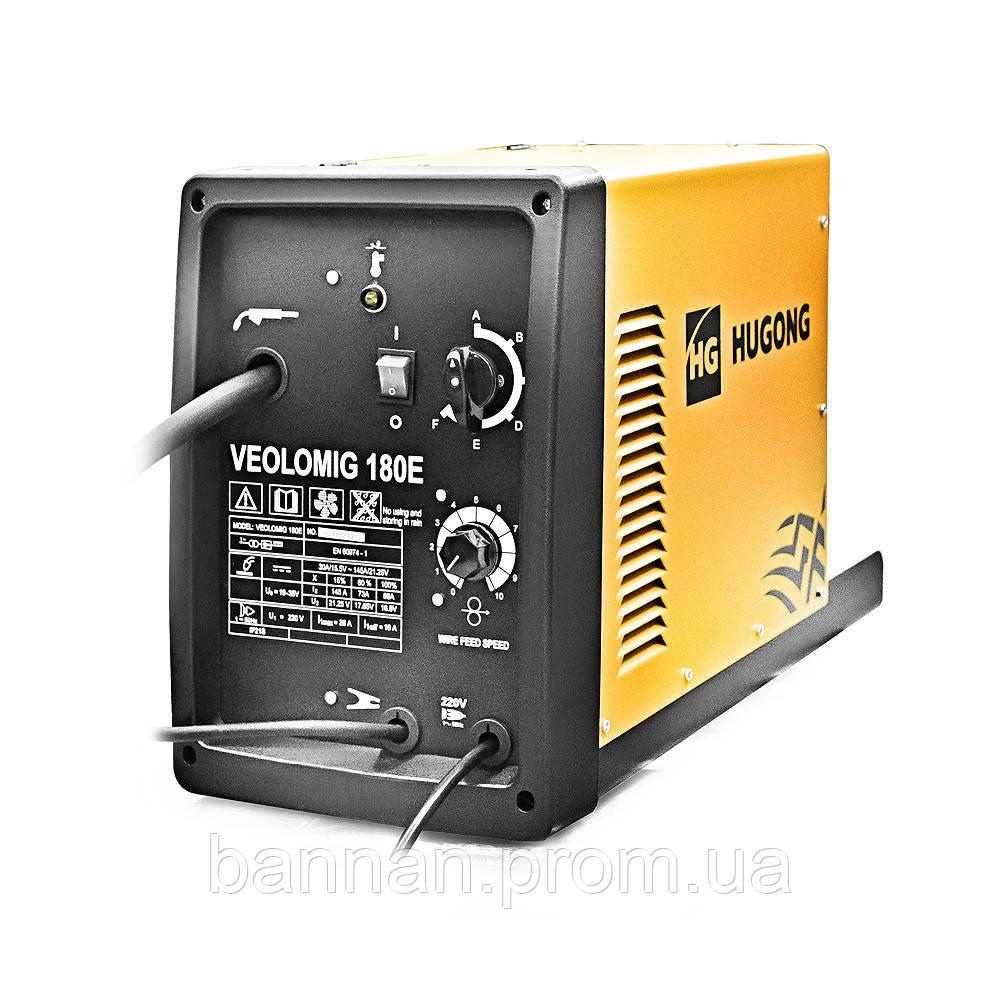 Сварочный инвертор полуавтомат Hugong VeoloMig 180E