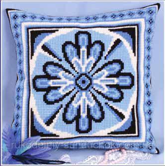 Набір для вишивання хрестом Panna PD-0549 Калейдоскоп (Подушка)
