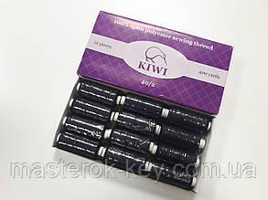 Швейная нитка Kiwi 40/2 цвет черный