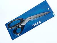 """Ножницы TIGER для кроя/универсальные 250мм 10"""" Черные, фото 1"""