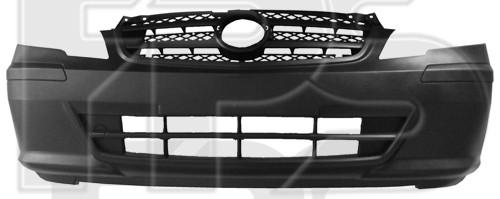 Передний бампер Mercedes Vito (10-14) серый, текстура (FPS)