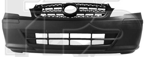 Передний бампер Mercedes Vito (10-14) серый, текстура (FPS), фото 2