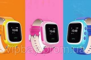 Детские умные Gps часы Smart Baby Watch Q100 с трекером отслеживания ц