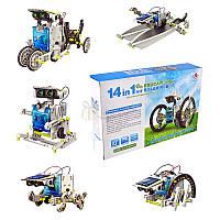 Робот-конструктор 14в1 на солнечных батареях