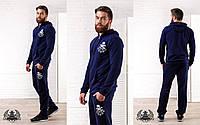 Мужской спортивный костюм Philipp Plein ткань двунитка петля высокого качества 46.48.50.52