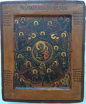 Икона Неопалимая купина   нач 19 века, фото 3