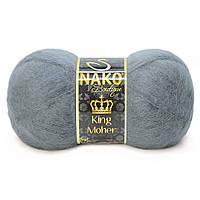Nako King Moher - 4192 темно серый