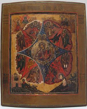 Икона Неопалимая купина 19 век, фото 2