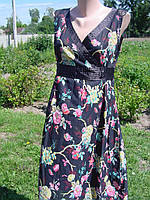 Летнее платье-сарафан из тончайшего хлопка-батиста 48-50 раз.