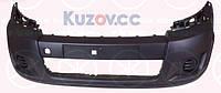 Передний бампер Citroen Jumpy, Peugeot Expert, Fiat Scudo (07-12) серый, текстура (Depo)