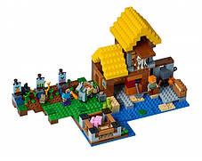 Конструктор Bela 10813 Майнкрафт Фермерский коттедж (аналог Lego Minecraft 21144), фото 2
